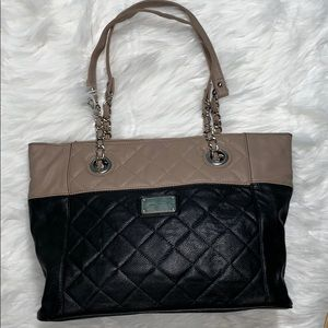 Nine West quilted tote.